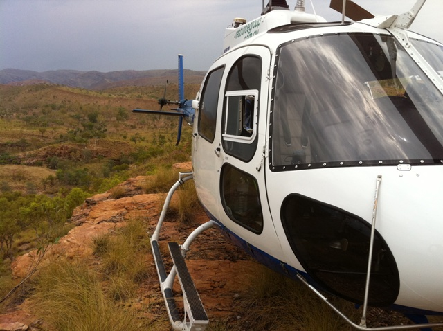 Conducting exploration operations in the Kimberley region of Western Australia